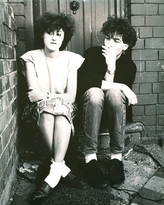 EBTG - DOORSTEP - PIC ROBERT CHEESMOND 1983