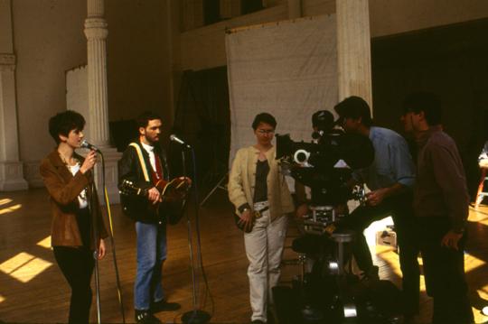 EBTG-Video-Shoot-with-Hal-Hartley-1993-Photo-Richard-Ludwig